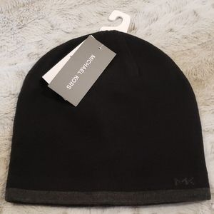 NWT - Michael Kors Men's Reversible Beanie Hat